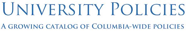 University Policies logo